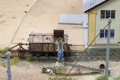 Müllentsorgung am Ringlokschuppen Selzthal