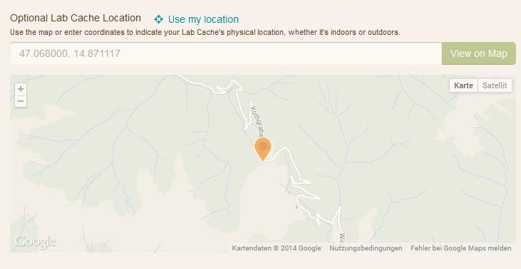 Cache Location