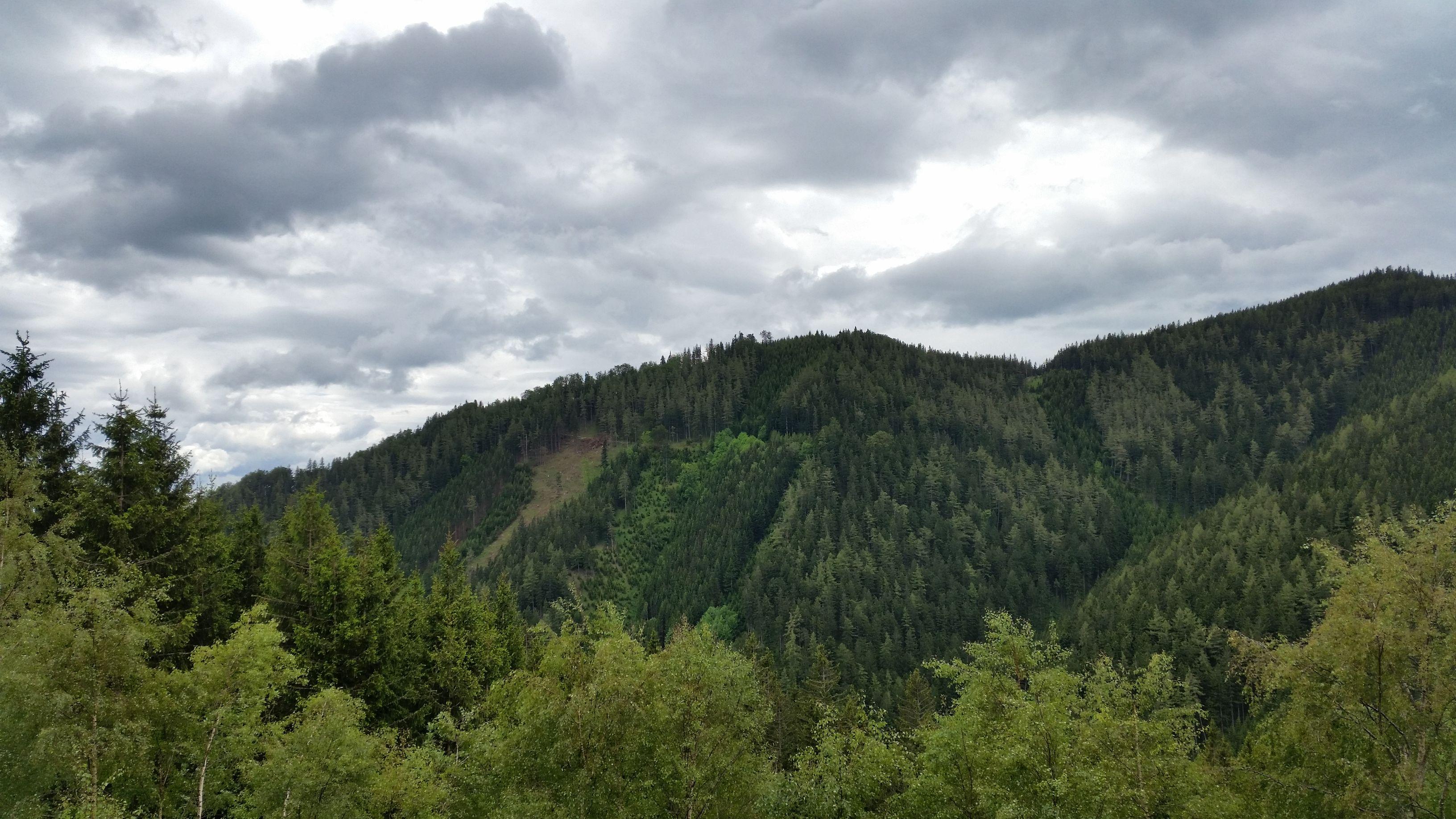 Blick nach Voitsberg