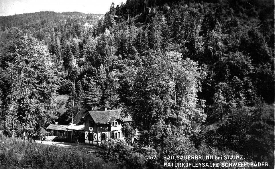 Bad Sauerbrunn, Anlage um ca.1930