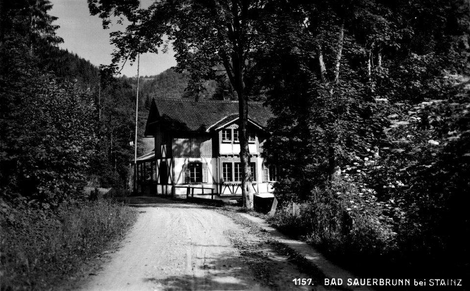 Bad Sauerbrunn, Anlage um ca. 1940