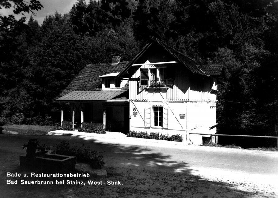 Bad Sauerbrunn, Anlage um ca. 1960